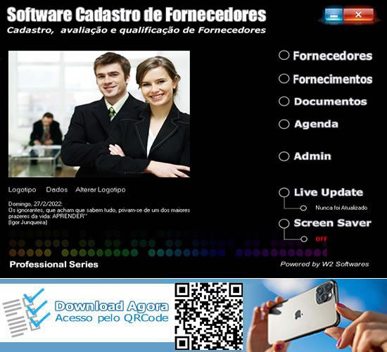 Software Controle de fornecedores e fornecimentos avaliação de fornecimento
