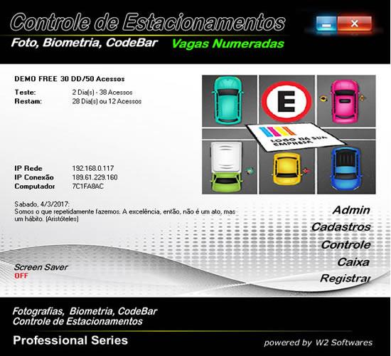 Software para estacionamento estacionamentos de vagas controladas