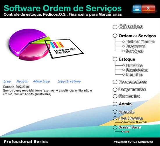Software ordem de serviços para marcenarias