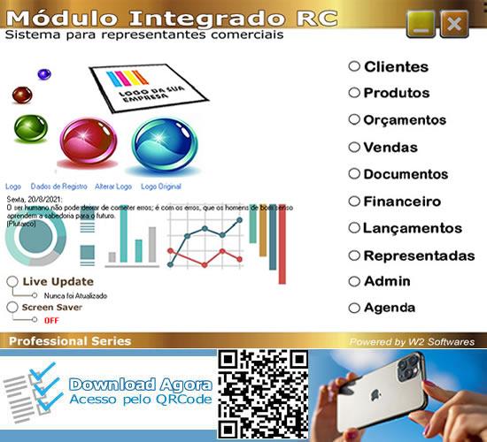 Software consultores de vendas representantes comerciais