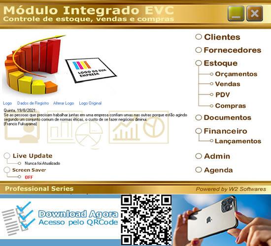 Software Controle de estoque e vendas com grade
