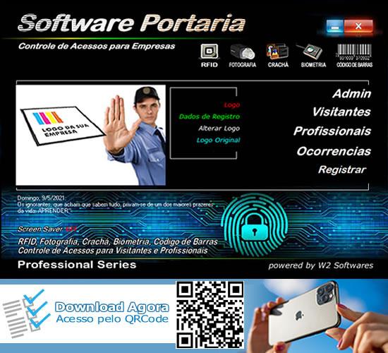 Software portaria Software controle de acesso para empresas